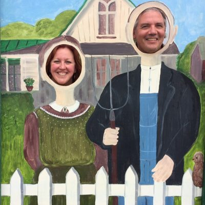 Growing Parents in the Garden (and American Gothic)