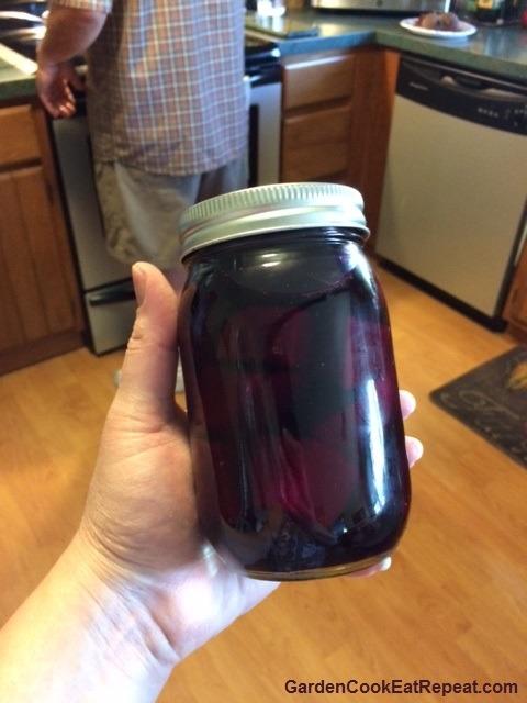 Beets in Jar