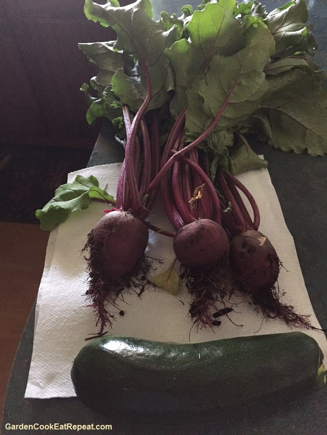 Beets and a Zucchini