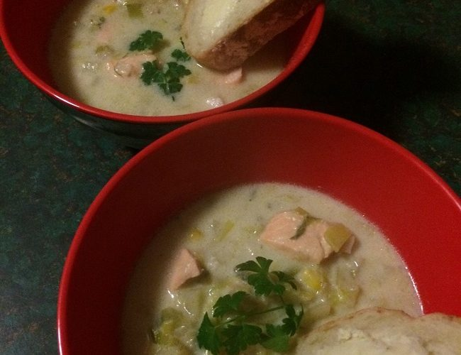 Fish & Leek Soup