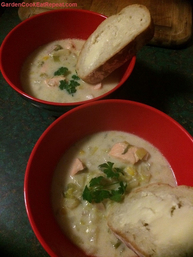 Fish Soup Served