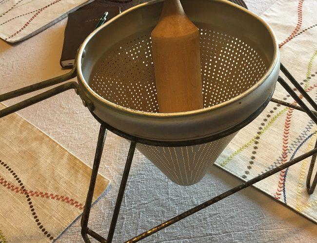Chinois Cone & Homemade Pasta Sauce