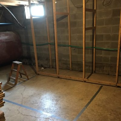 Building a Root Cellar in the Basement
