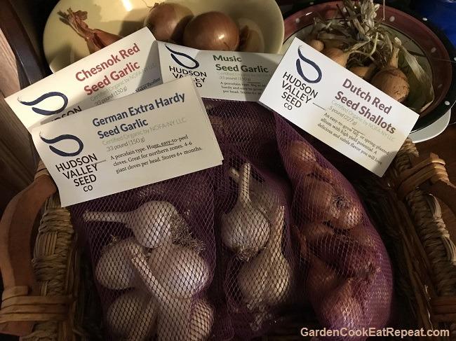 Garlic and shallots
