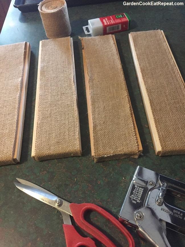 Homemade bagel boards