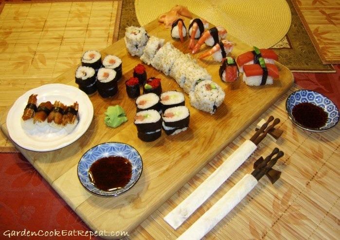 NYE 2010-2011 Sushi