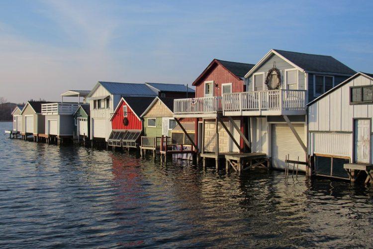 Canandaigua Lake Boathouses