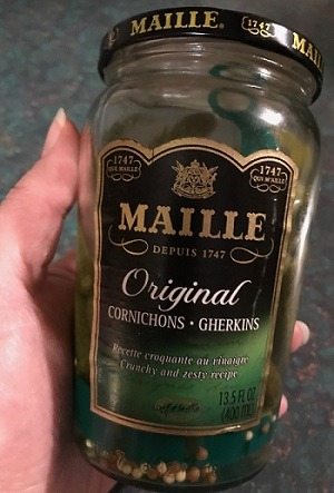 Maille Cornichons are the best