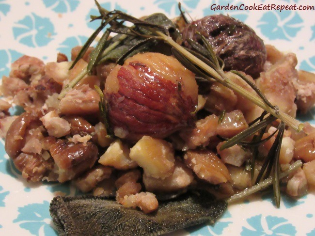 Plated Chestnuts