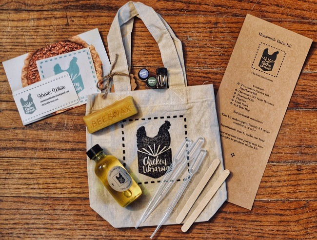 Chicken Librarian DIY Kit