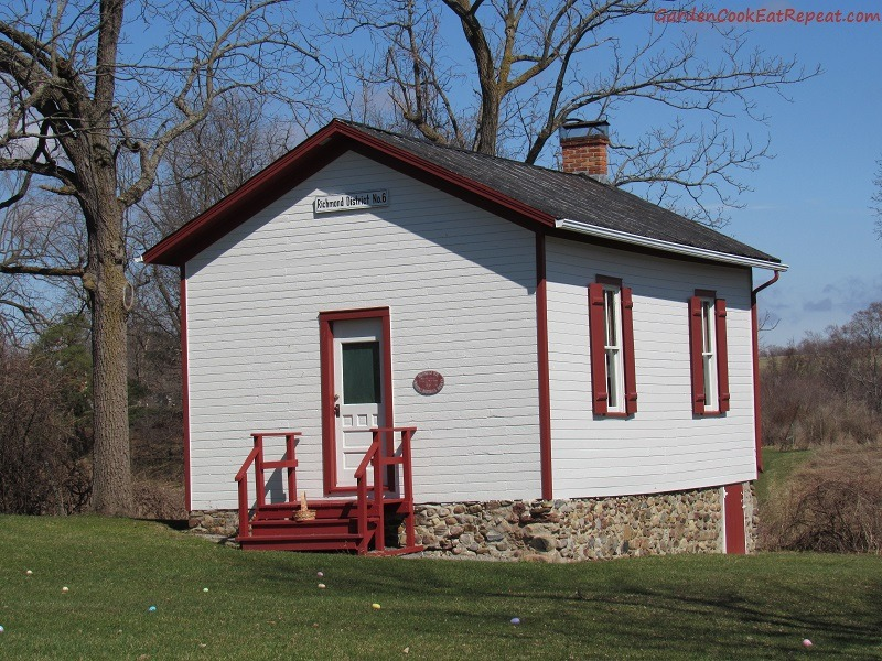 Little one room schoolhouse