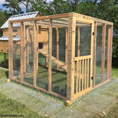 Chicken Moving Day & DIY Coop Tour – A Video