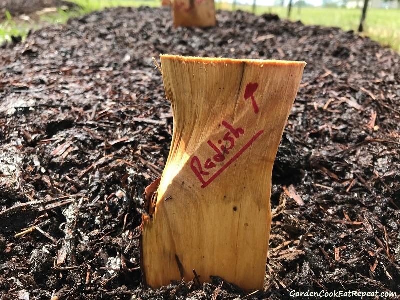 DIY Rustic Garden Nameplates