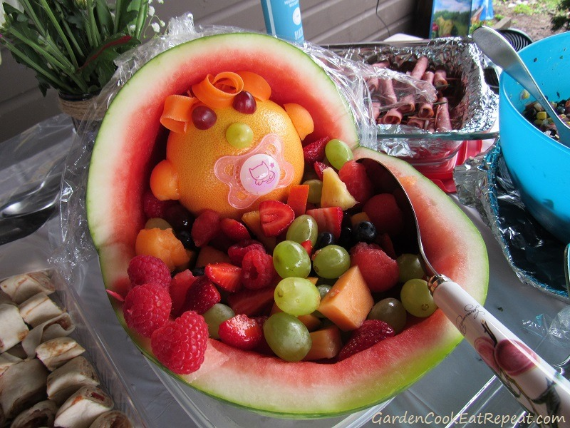 Fruit Salad for Baby Shower