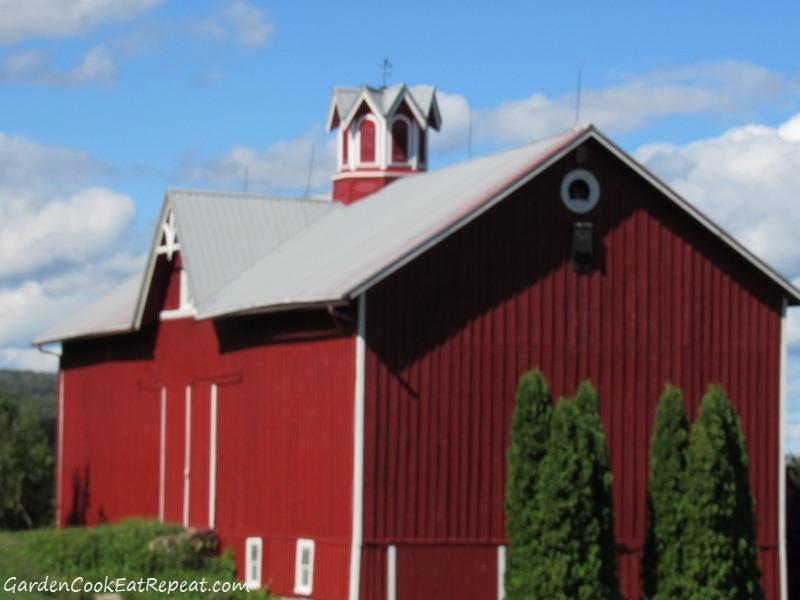 Barn along the way